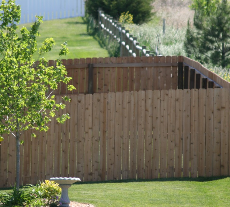 AFC Grand Island - Wood Fencing, 1021 6' Solid Privacy