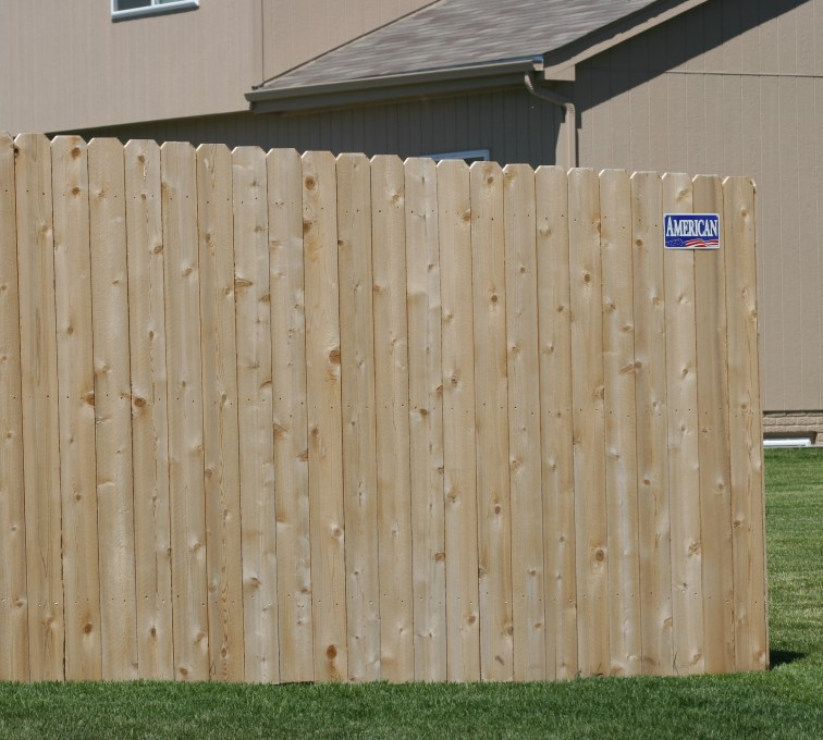 AFC Grand Island - Wood Fencing, 1022 6' solid privacy