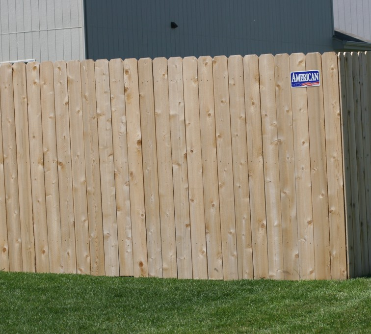 AFC Grand Island - Wood Fencing, 1023 6' solid privacy