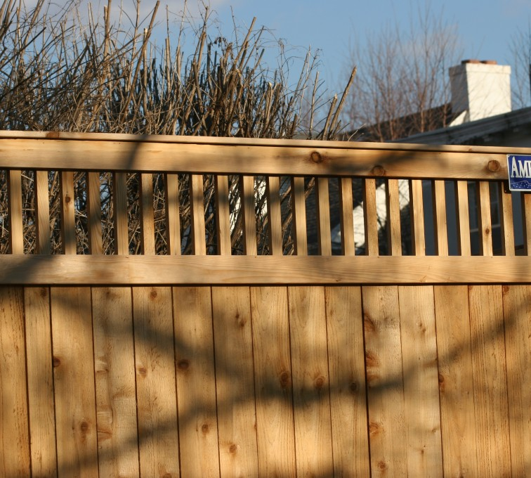 AFC Grand Island - Wood Fencing, 1043 Custom Dato
