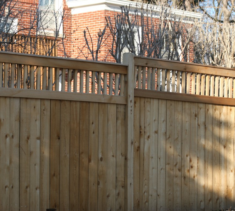 AFC Grand Island - Wood Fencing, 1044 Custom Dato