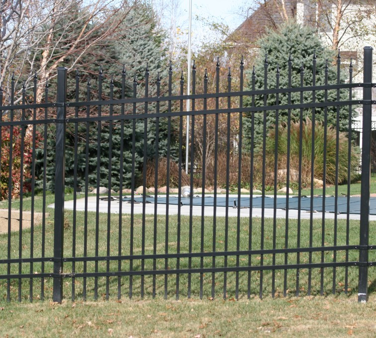 AFC Grand Island - Ornamental Fencing, 1066 6'