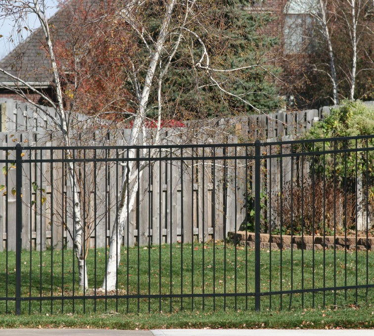 AFC Grand Island - Ornamental Fencing, 1067 Flat top 6'