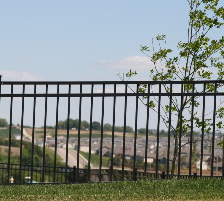 AFC Grand Island - Ornamental Fencing, 1069 4' Flat Top