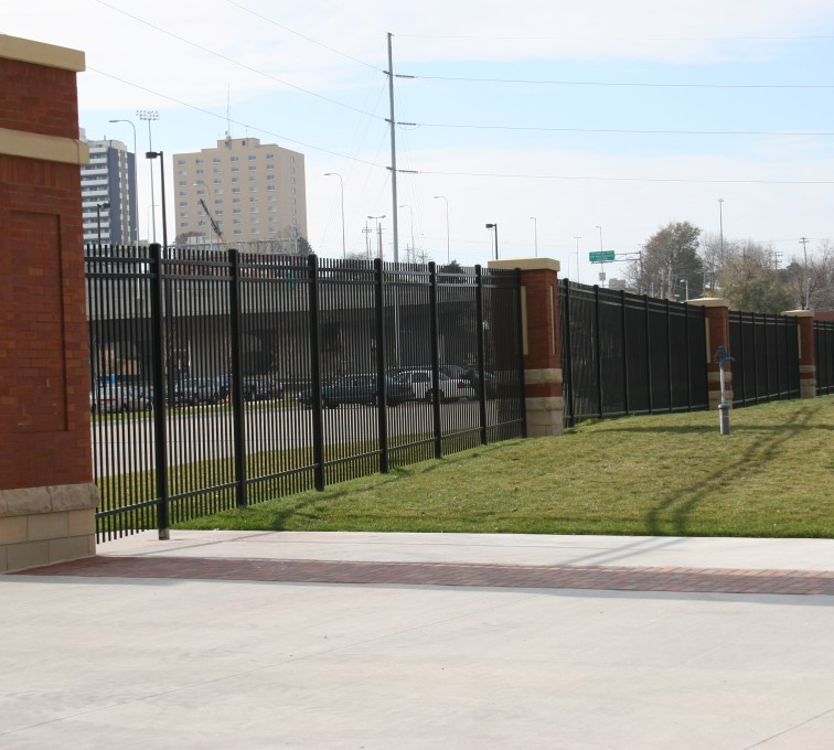 AFC Grand Island - Ornamental Fencing, 1072 Black Spear top Creighton Soccer Fields