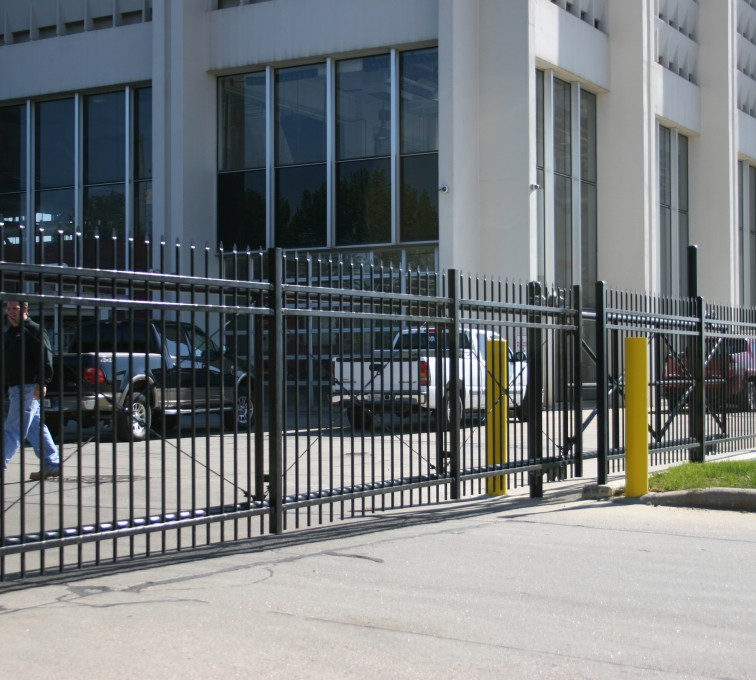 AFC Grand Island - Ornamental Fencing, 1074 Energy Services Gate 2