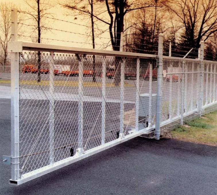 AFC Grand Island - Custom Gates, 2107 TyMetal Heavy Duty Aluminum Slide Gate