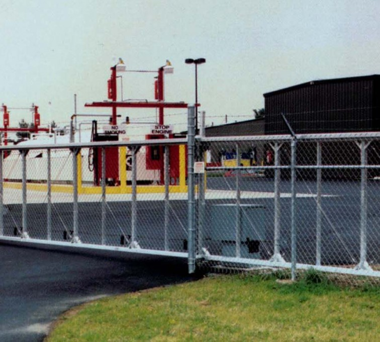 AFC Grand Island - Custom Gates, 2108TyMetal Aluminum Structural Slide Gate