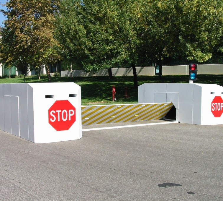 AFC Grand Island - K-Rated Vehicle Restraint Systems Fencing, 2112 Mobile Vehicle Barrier
