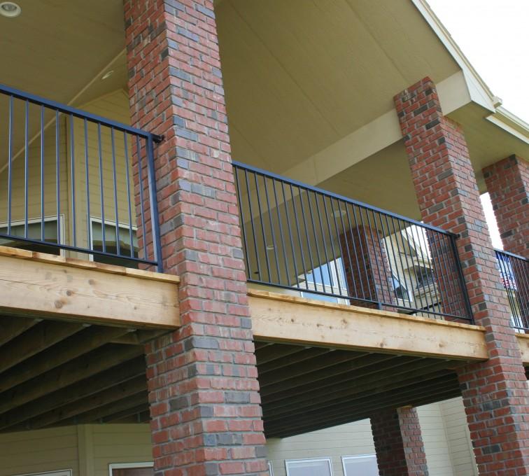 AFC Grand Island - Custom Railing, 2213 Deck Railing