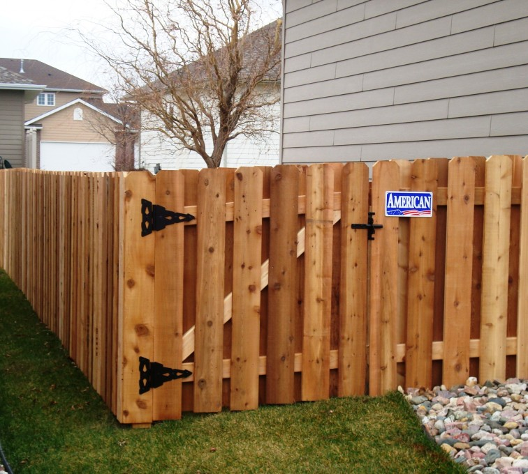 AFC Grand Island - Wood Fencing, Cedar Board on Board, AFC, SD