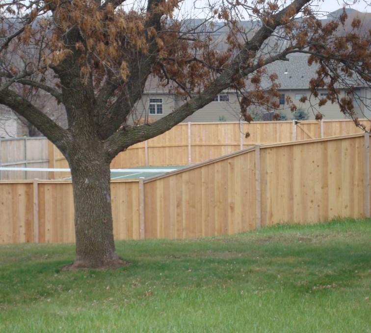 AFC Grand Island - Wood Fencing, Cedar Privacy Capboard AFC, SD