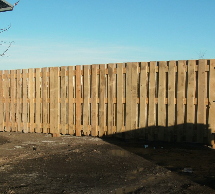 AFC Grand Island - Wood Fencing, Custom Board on Board - AFC - SD