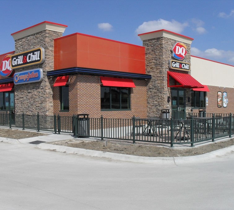 AFC Grand Island - Ornamental Fencing, Dairy Queen