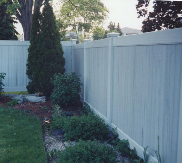 AFC Grand Island - Vinyl Fencing, Greystone Privacy (615)