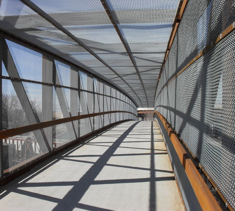AFC Grand Island - Chain Link Fencing, Holdrege Street Bridge Inside