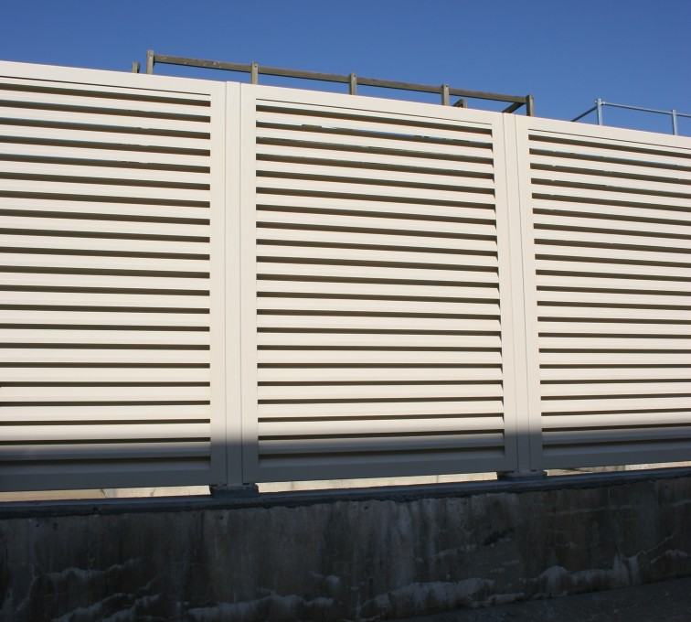AFC Grand Island - Louvered Fence Systems Fencing, Louvered Fence System