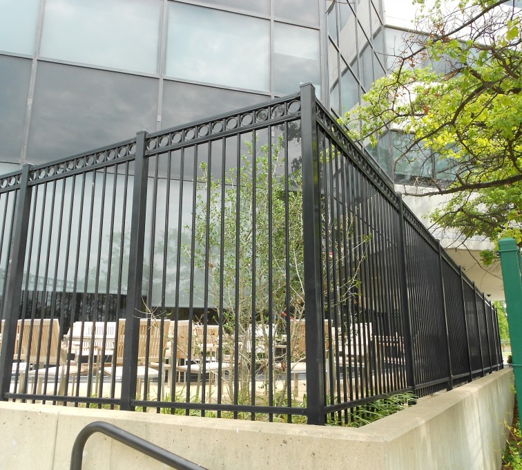 AFC Grand Island - American Ornamental Fencing, Commercial Flat Top