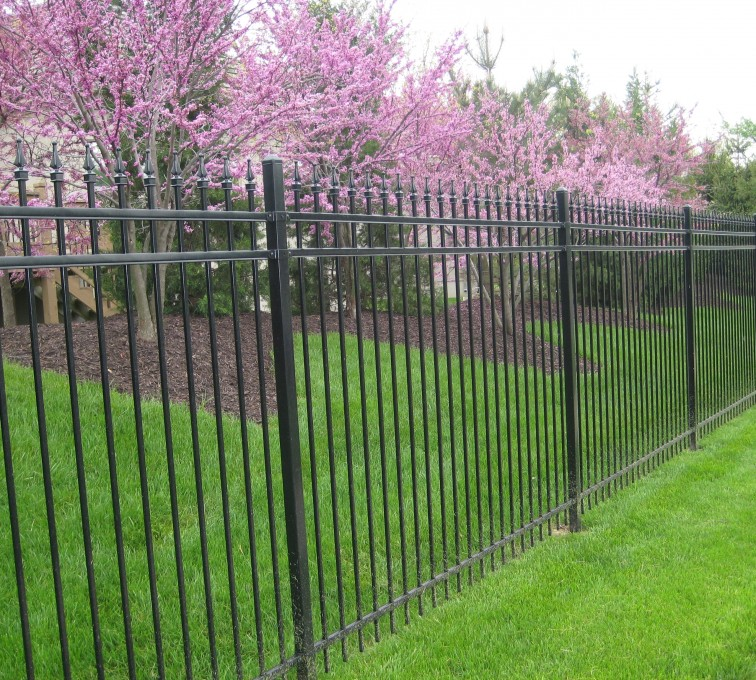 AFC Grand Island - American Ornamental Fencing, Alternating Picket with finials