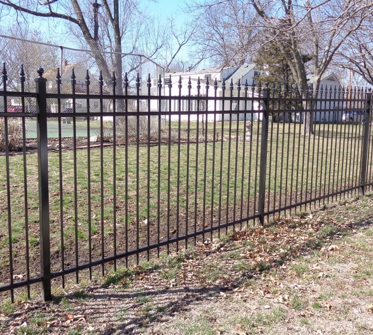 AFC Grand Island - Ornamental Fencing, 5' with Quad Flares - AFC-KC