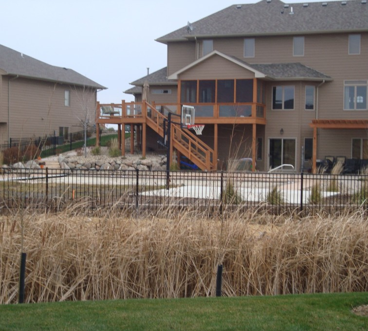 AFC Grand Island - Ornamental Fencing, Residential Flat Top Ornamental Fence