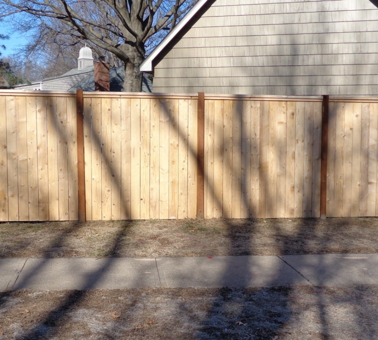 AFC Grand Island - Wood Fencing, 6' Privacy with Cap Board - AFC-KC