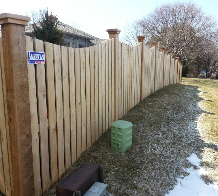 AFC Grand Island - Wood Fencing, Custom Wood 9922 Devonshire