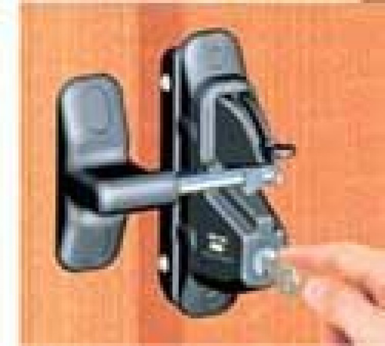 AFC Grand Island - Accessories, Lokk Latch Pro-Wood and Metal Fence